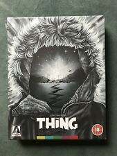 The Thing (Arrow Video Limited Edition Blu Ray Set) New Sealed oop region b