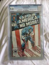 Captain America #332 - CGC 9.8