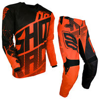 2018 SHOT DEVO VENOM KTM ORANGE KIDS YOUTH MX MOTOCROSS RACE KIT PANTS & JERSEY