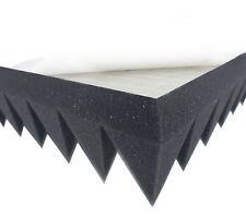 Akustikpur Pyramidenschaumstoff (7cm) SELBSTKLEBEND Akustik Schaumstoff Dämmung