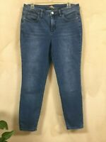 Tommy Bahama Womens Size 10 31 x 28  High Rise Ankle Jeans Stretch RN86549 Med
