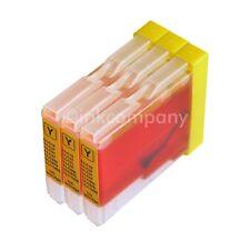 Druckerpatronen yellow 3x DCP 535CN 540CN 560CN 750CW 770CW MFC 465CN 5460CN