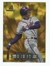 MICHAEL TUCKER 1997 PINNACLE MUSEUM COLLECTION INSERT # 76 ATLANTA BRAVES