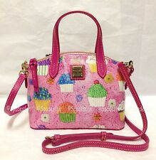 Dooney & Bourke CT0177 PK Cupcakes RUBY Mini Satchel Bag 2-Way Purse PINK NWT