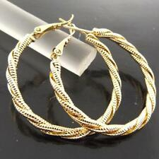 Hoop Yellow Fashion Earrings