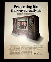 Life Magazine Ad SYLVANIA COLOR TV1969 Ad October 17 1969 Cover