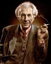 "FRANK LLOYD WRIGHT ARCHITECT DESIGNER EDUCATOR 8x10"" HAND COLOR TINTED PHOTO"