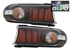 2007-2013 Toyota FJ Cruiser Park Signal Front Bumper Lights BLACK DEPO