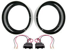 anillos de altavoces 200mm + CABLE PARA VW Jetta 5+6 FRONTAL PUERTAS / 70mm