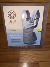 New In Box Lille Baby Classics 6 Position Carrier - Color Dove