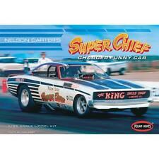 Polar Lights 1/25 '70 Charger Funny Car SUPER CHIEF Nelson Carter 935 Plastic Ki