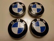 GENUINE BMW Alloy Wheel Centre Caps Chrome - 36136783536 - NEW - FULL SET
