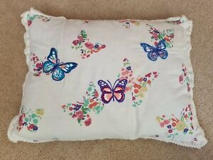 Small Bedroom Bed Cushion Girls Butterfly