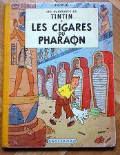 Tintin : les cigares du pharaon  1955 EO B 14 couleurs