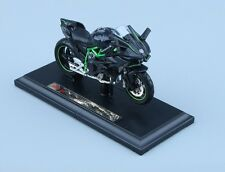 1:18 2016 Kawasaki H2R Motorcycle Diecast Model Maisto W/Removable Base Gift Toy