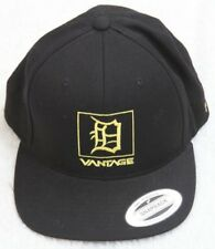 New Vantage Be A Lion Black Hat Cap Adjustable Snap Back Acrylic Wool Yupoong