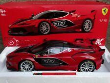 Bburago Ferrari FXXK #88 1:18 Scale Diecast Model Exotic Car Red & Black