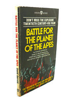 David Gerrold BATTLE FOR THE PLANET OF THE APES  1st Edition 1st Printing