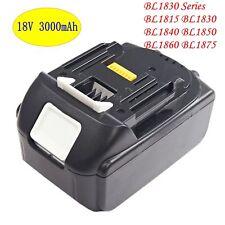 La Batería De 18V Para Makita BL1830 BL1840 BL1815 LXT400 LXT Li-ion 3A 3000mAh