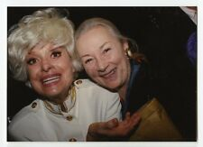 Rosemary Harris & Carol Channing - Vintage Candid Photo by Peter Warrack