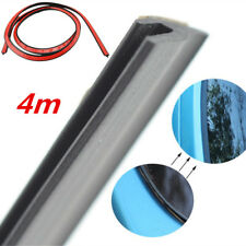 "157"" y Type Weatherstrip Car Rear Windscreen Sealed Strip Glass Edge Seal Black"