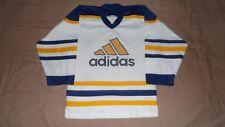 Vintage Adidas Buffalo Sabres White Men's Size Small Hockey Jersey
