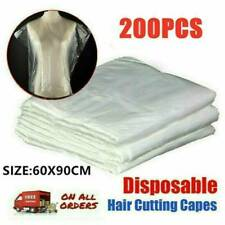 200 Pieces Disposable Hair Cutting Cape-Salon Gowns-Salon Capes Cloth Apron NEW