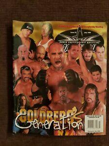 WCW Magazine July 1999 Issue 52 Goldberg Cover Benoit Eddie Steiner WWE WCW WWF