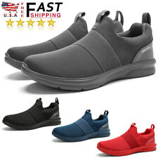Men's Running Non-slip Sneakers Casual Jogging Breathable Athletic Tennis Shoes