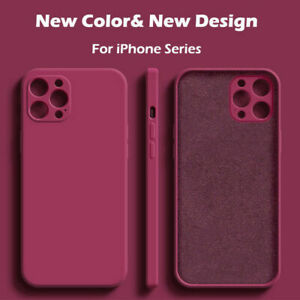 Silicone Shockproof Rubber Cover Case for Apple iPhone 12 Pro Max Mini UK