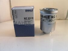 Mahle Fuel Filter KC83D - Fits Mazda Mitsubishi Subaru Toyota VW *OE QUALITY*