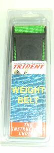 Weight Belt 58in Scuba Diving Dive Equipment Green New WB36