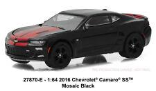 Greenlight General Motors Collection 2016 Chevrolet Camaro SS mosaic black