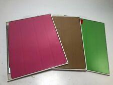 Genuine OEM Apple Smart Cover for iPad 2, 3 & 4    Pink / Green / Tan