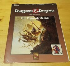 Dungeons and Dragons D&D The Dymrak Dread Game Adventure DDA4 TSR 9272