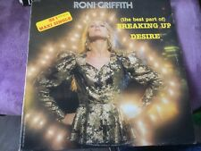 """RONI GRIFFITH (the best part of) breaking up 12"""" MAXI 45T  (a8)"""