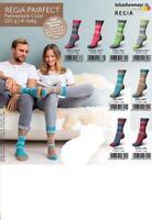 8 x 100 gr.Sockenwolle/Strumpfwolle Regia Pairfect Partnerlook Color