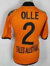 OLLE #2 TALES ALLSTARS KAPPA FOOTBALL SHIRT MENS LARGE ORANGE RARE