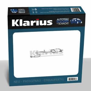Klarius ESD Auspuff Endtopf für Bluebird 2.0 i 1988-1990