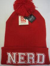 Chapeaux rouge taille unique pour fille de 2 à 16 ans