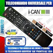 TELECOMANDO UNIVERSALE I-CAN; CLICCA SUL TUO MODELLO E LO RICEVERAI GIA PRONTO