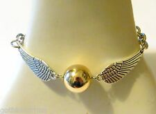 BRACCIALE BOCCINO D'ORO GOLDEN SNITCH HARRY POTTER QUIDDITCH ALI WINGS