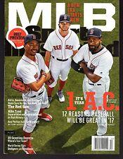 Sports Illustrated 2017 Boston Red Sox RF Mookie Betts  NR/Mint Newsstand