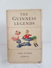 The Guinness Legends And Other Verses Booklet 1934