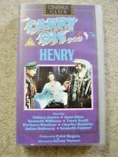 VHS Video Cassette tape,Carry on,Henry