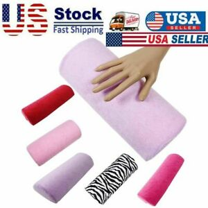 Soft Nail Art Pillow Hand Holder Cushion Arm Rest Support Pad Mat Manicure Tool