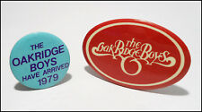 The Oak Ridge Boys Lot Of 2 70's Buttons Bades