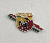 Abarth Racing Cars Italian Art Badge Iron or Sew on Embroidered Patch
