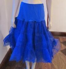 WEDDING BRIDESMAIDS VINTAGE  Viola A-Line Petticoat Blue size L  new no tag  #45