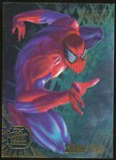 1995 Marvel Annual DuoBlast Trading Card #1 Spider-Man and Scarlet Spider